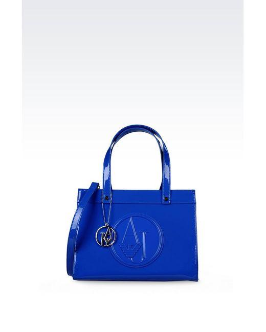 Armani Jeans | Blue Shopper | Lyst
