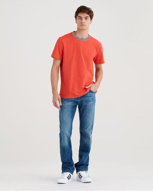 7 For All Mankind - Blue Austyn Relaxed Straight In Rain Shadow for Men - Lyst