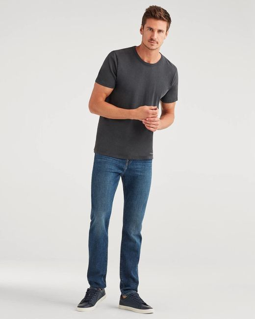 7 For All Mankind Blue Series 7 Skinny Ryley With Clean Pocket In Finally Free for men