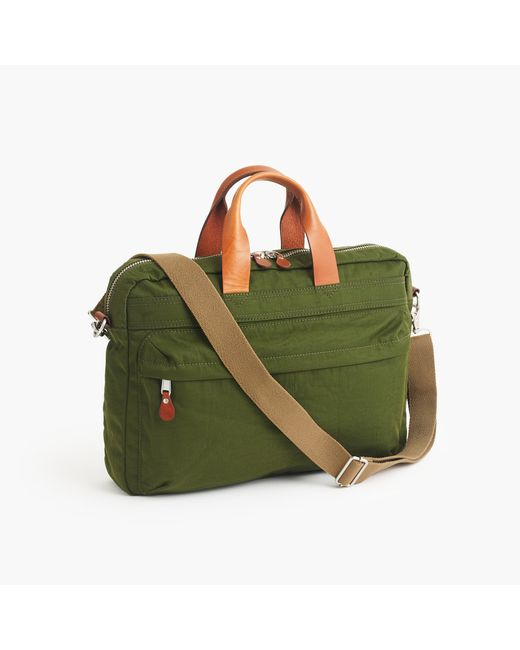 J.Crew | Green Harwick Briefcase for Men | Lyst