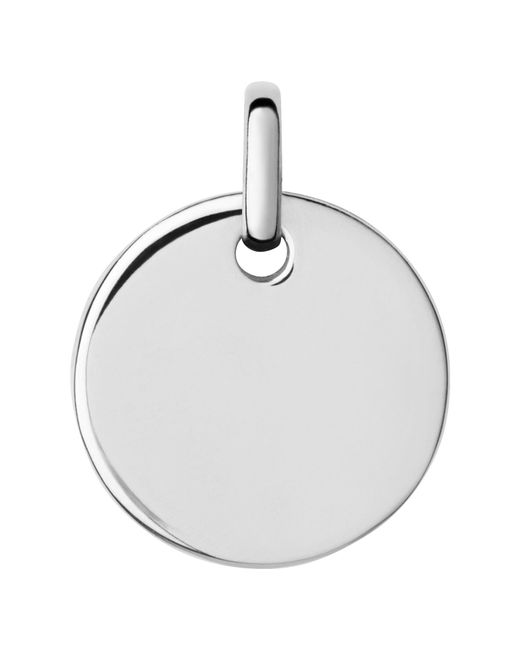 Links of London | Metallic Narrative Small Round Disc Pendant | Lyst