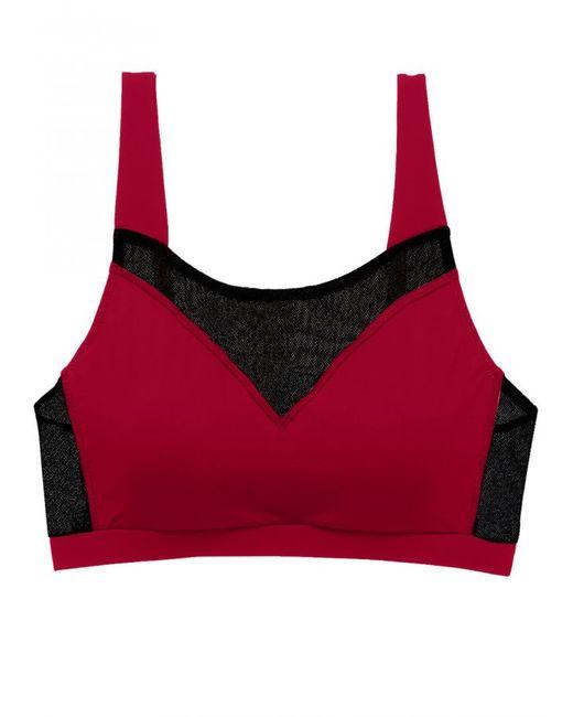 Cosabella | Red Triathlon Padded Sports Bra | Lyst