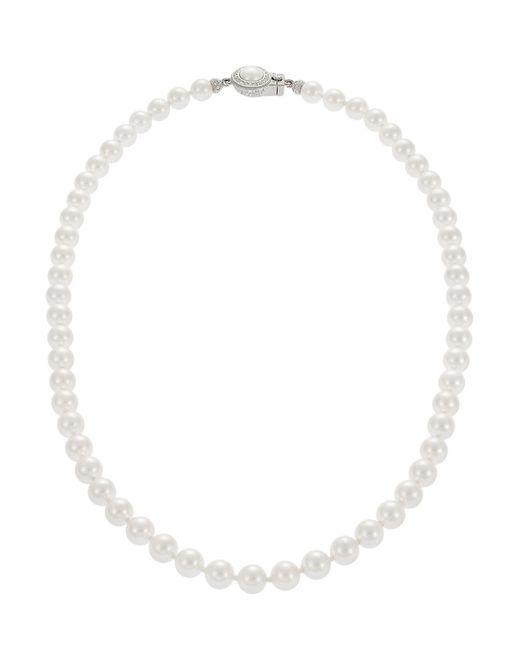 Nadri | Natural Faux Pearl Princess Necklace | Lyst