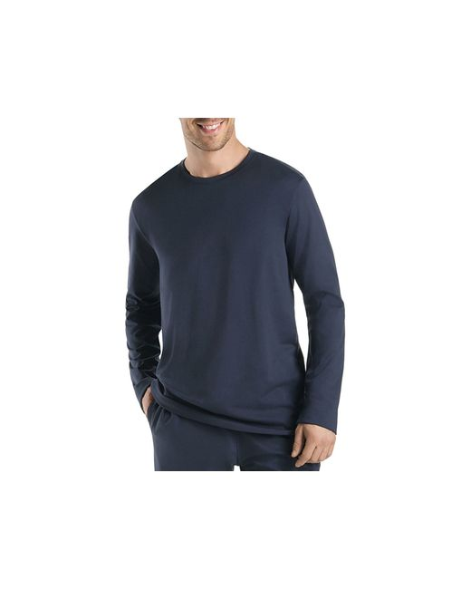 Hanro | Black Night And Day Long Sleeve Tee for Men | Lyst