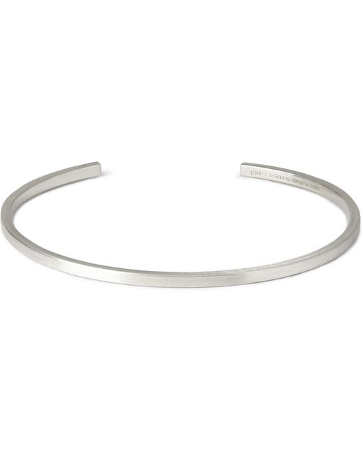 Le Gramme | Metallic Le 7 Matte Sterling Silver Cuff for Men | Lyst