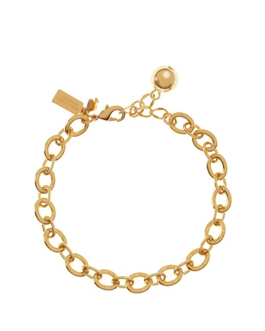 Kate Spade | Metallic Charm Link Bracelet | Lyst