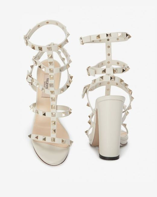 valentino chunky heel