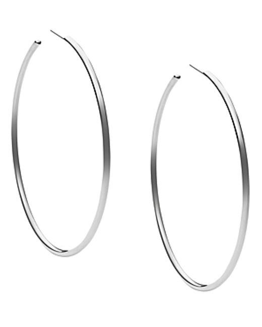 Michael Kors   Pink Hoop Earrings   Lyst