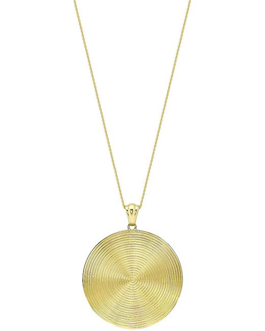Theo Fennell | Metallic 18ct Yellow-gold Whip Disc Pendant Necklace | Lyst