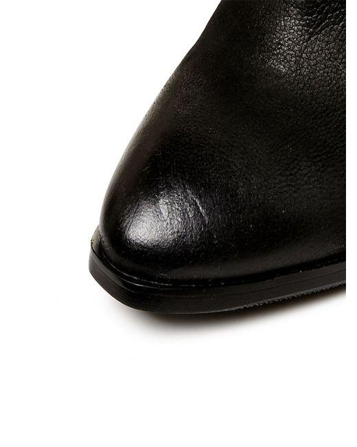 Moda In Pelle | Black Leonor Medium Smart Short Boots | Lyst