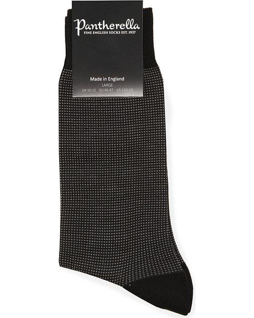 Pantherella | Black Birdseye Socks for Men | Lyst