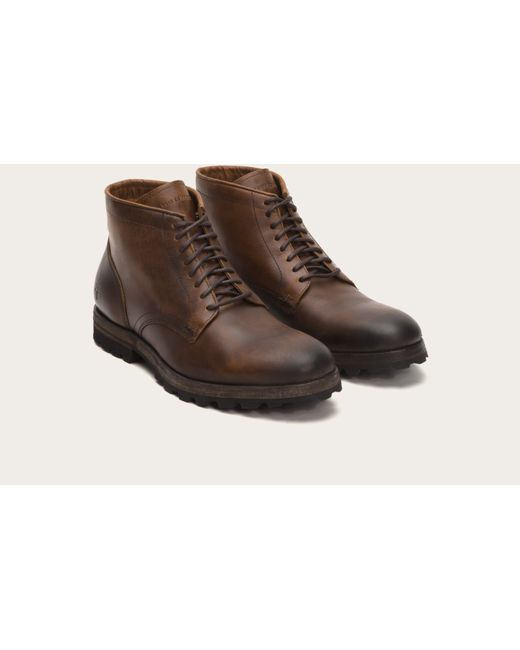 Frye | Brown William Lug Lace Up for Men | Lyst