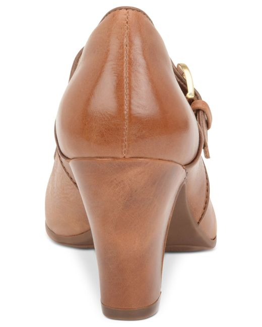 Söfft | Brown Miranda Mary Jane Pumps | Lyst