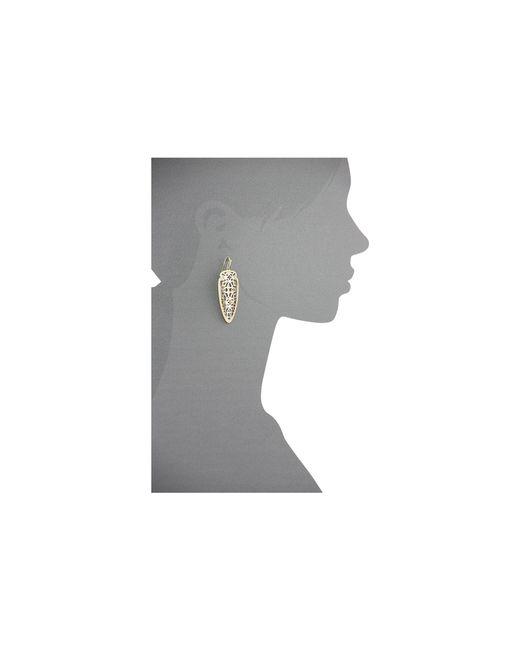 Kendra Scott   Metallic Sadie Earring   Lyst