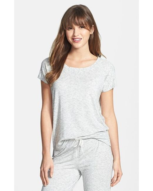DKNY | Gray 'city Essentials' Tee | Lyst