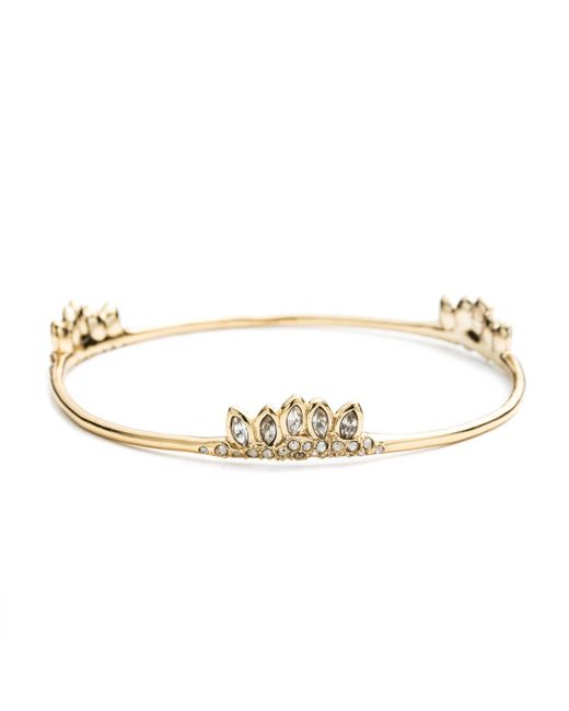 Alexis Bittar | Metallic Jagged Marquis Skinny Cluster Bangle You Might Also Like | Lyst