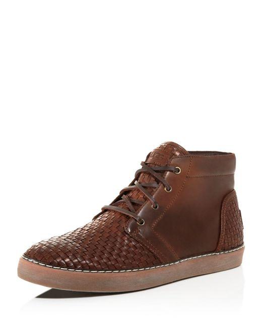 Ugg | Brown Australia Alin Woven Chukka Sneaker Boots for Men | Lyst