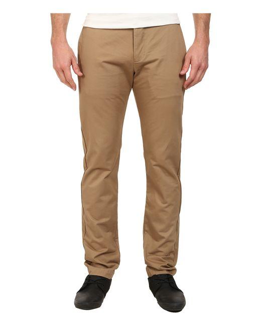 Dockers Modern Khaki Slim Tapered Pants in Natural for Men