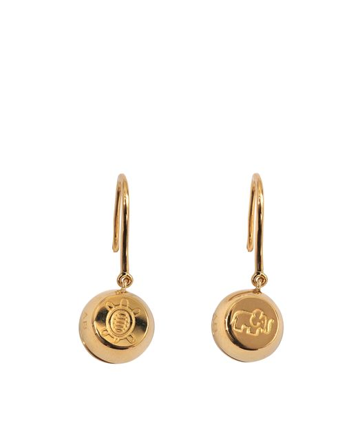 Aurelie Bidermann | Metallic Fine Jewellery - 18k Telemaque Earrings | Lyst