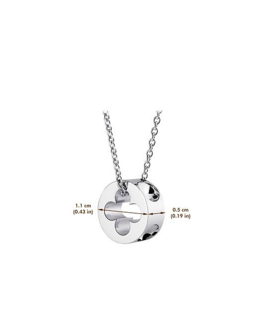 Louis Vuitton | Empreinte Pendant, White Gold | Lyst