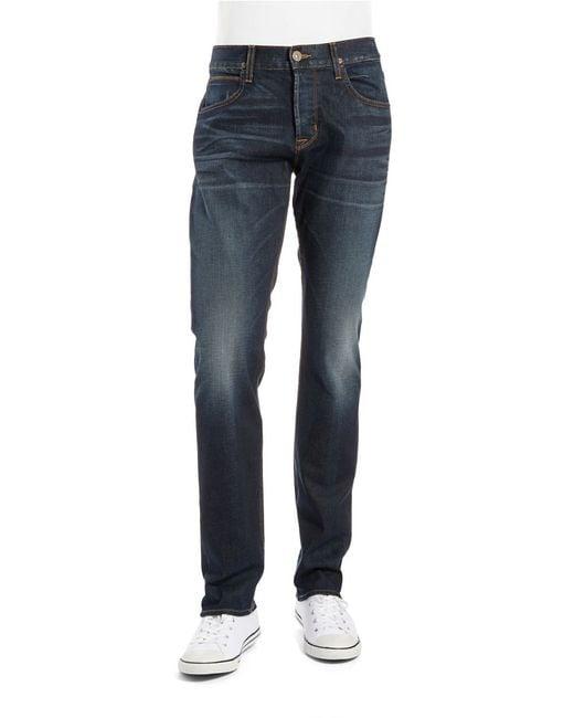 Hudson Jeans | Blue Byron Straight-leg Jeans for Men | Lyst