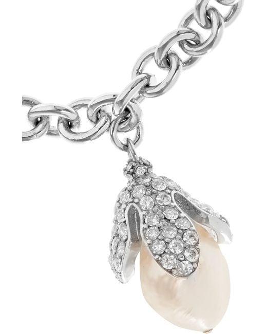Balenciaga | Metallic Embellished Bracelet | Lyst