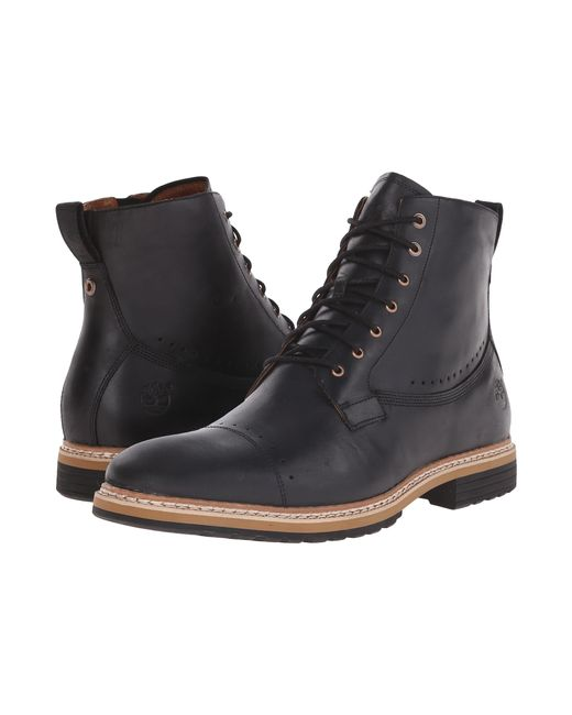 "Timberland | Black West Haven 6"" Side Zip Boot for Men 