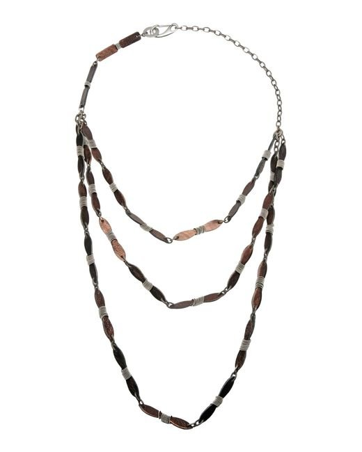 Masnada | Metallic Necklace | Lyst