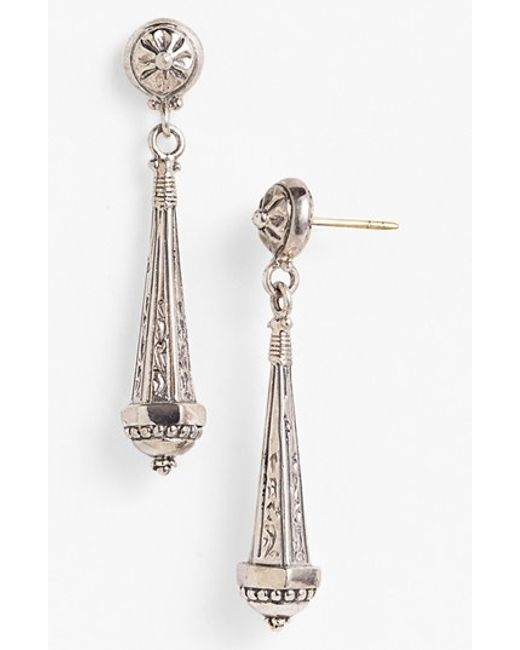 Konstantino | Metallic 'classics' Linear Earrings | Lyst
