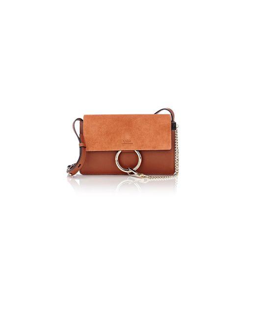 Chloé | Brown Small 'faye' Shoulder Bag | Lyst