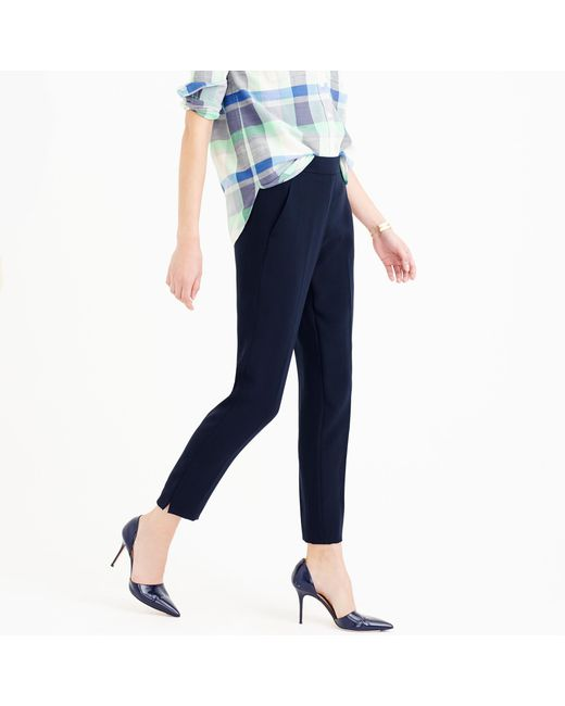 J.Crew | Blue Tall Easy Pant | Lyst