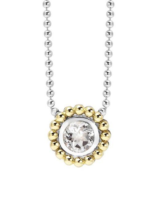 Lagos | Metallic Stone Pendant Necklace | Lyst