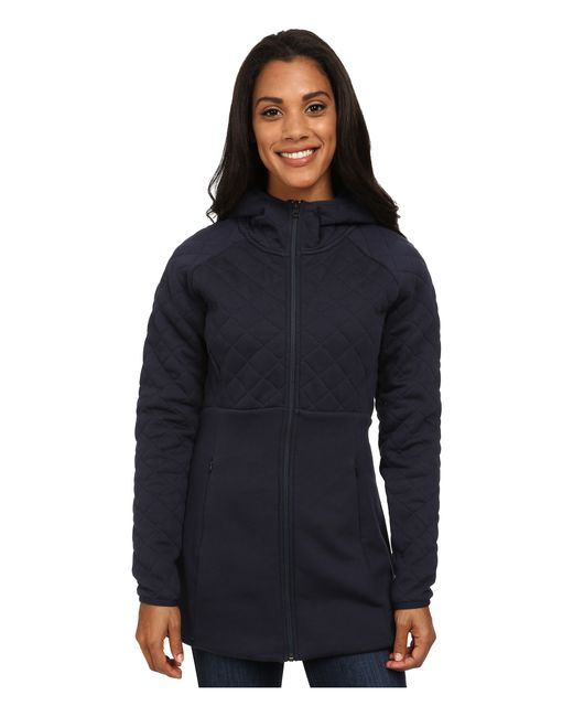 The North Face | Blue Hooded Caroluna Jacket | Lyst