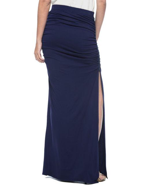 Ella Moss   Black Bella Tie-waist Maxi Skirt   Lyst