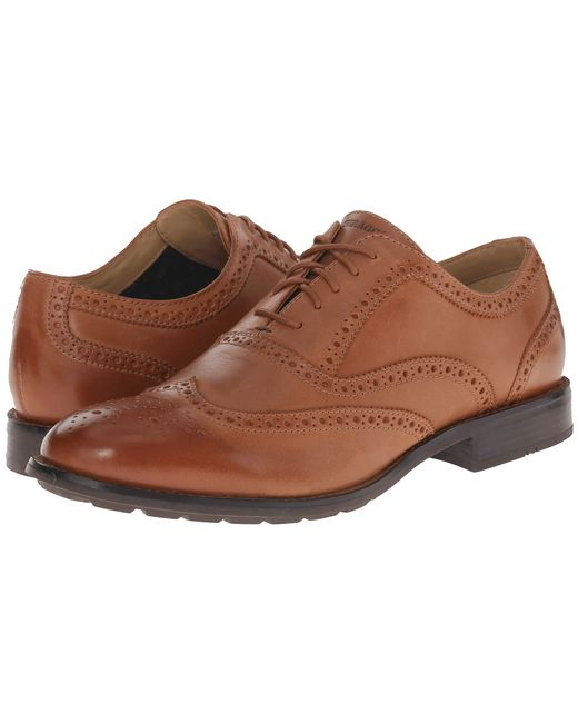 Sebago | Brown Dresden Wing Tip for Men | Lyst