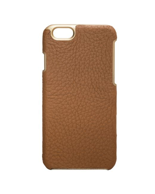 Gigi New York | Brown Pebbled Leather Iphone 6 Case | Lyst