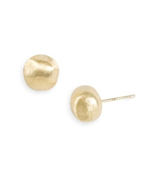 Marco Bicego | Metallic 'africa Gold' Nugget Earrings | Lyst