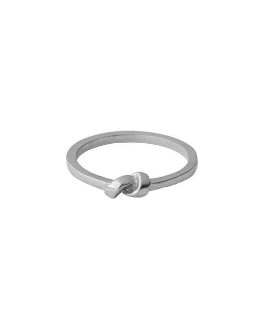 Whistles | Metallic Knot Ring | Lyst