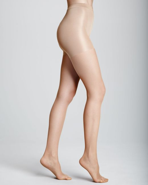 Wolford | Black Wolford Individual 10 Soft Control Tights | Lyst