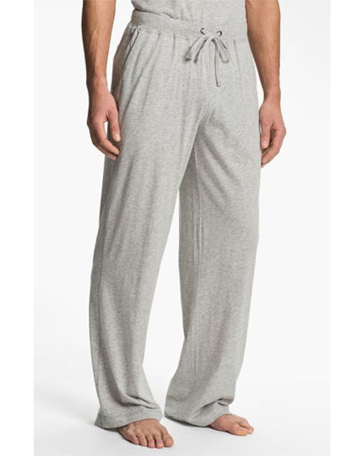 Daniel Buchler | Gray Peruvian Pima Lightweight Cotton Lounge Pants for Men | Lyst