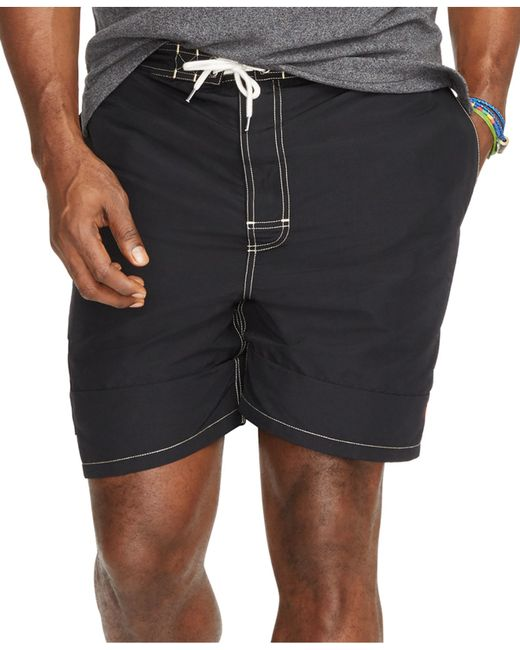 Polo ralph lauren men 39 s big and tall kailua swim trunks in for Mens swim shirt big and tall