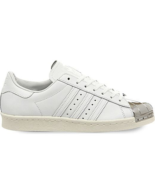 isice Adidas originals Superstar 80\'s Metal Toe W in White - Save 43% | Lyst