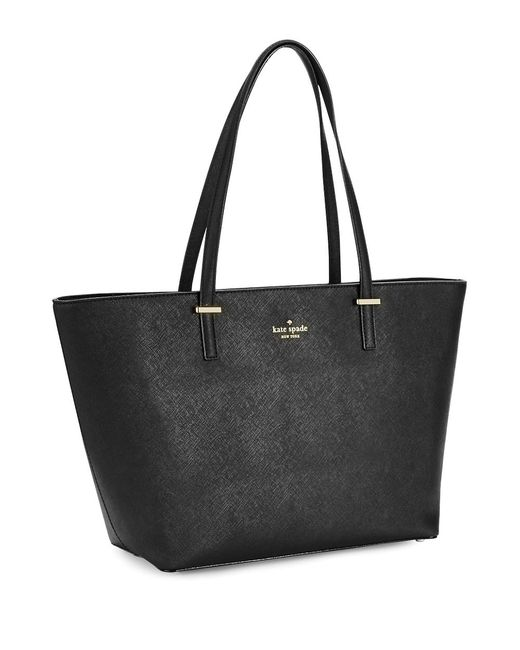 Kate Spade | Black Small Harmony Leather Tote | Lyst