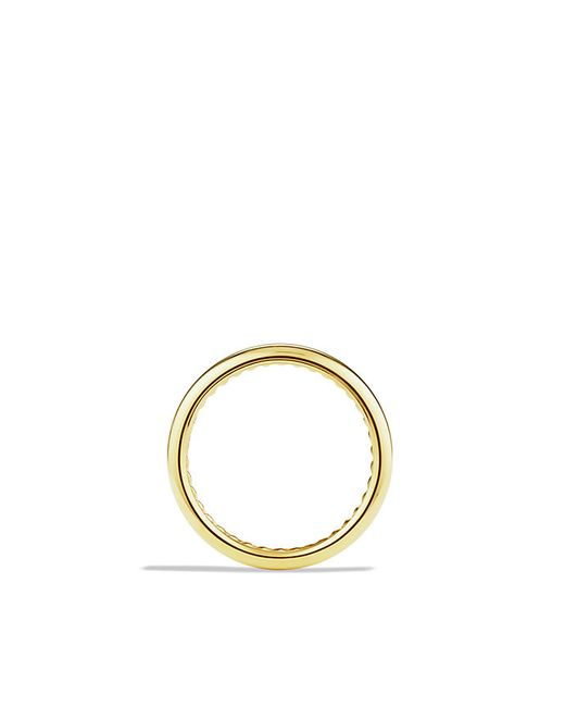 David Yurman | Metallic Dy Eden Narrow Band Ring In 18k Gold, 3.5mm for Men | Lyst