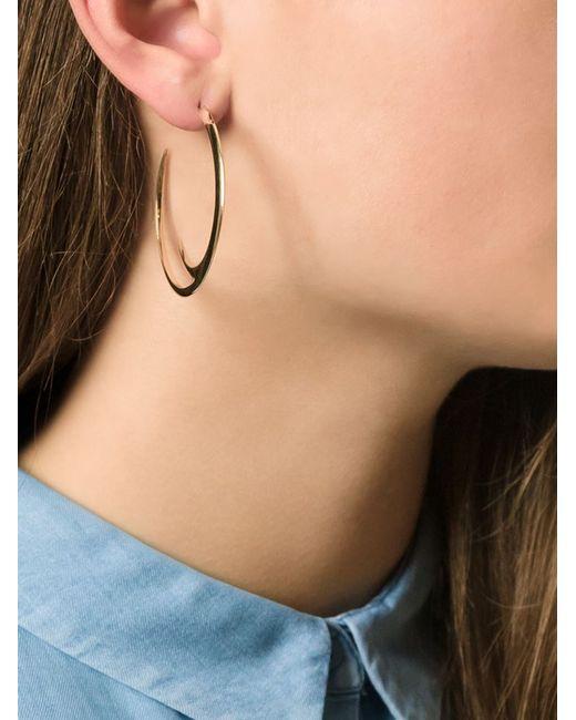 Shaun Leane   Metallic Cat Claw Hoop Earrings   Lyst