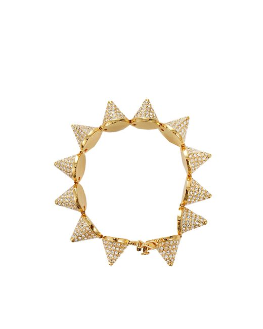 Eddie Borgo | Metallic Pave Cone Bracelet | Lyst