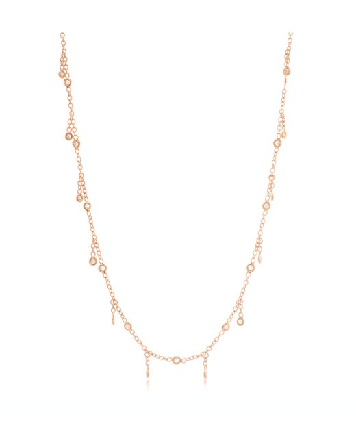 Jacquie Aiche | Metallic Diamond Shaker Necklace | Lyst