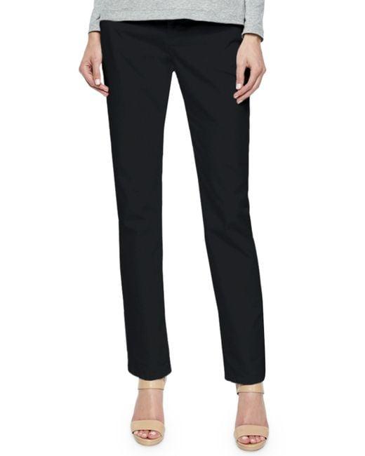 Lafayette 148 New York | Black Curvy Slim Leg Jeans | Lyst