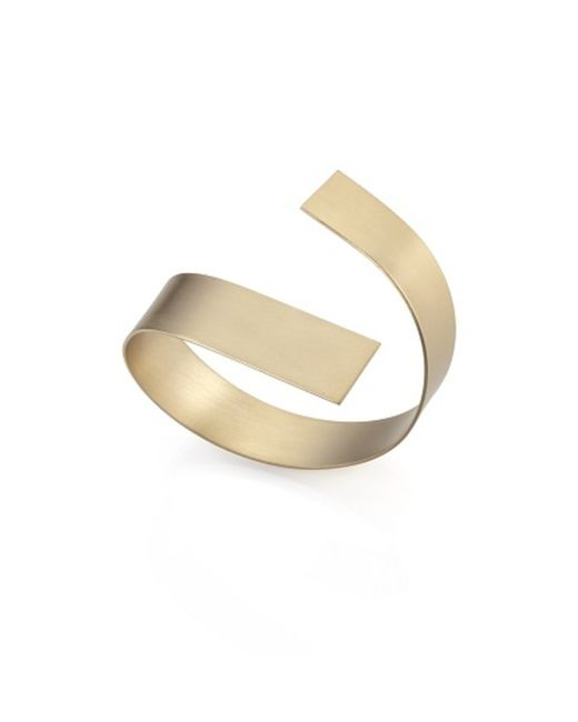 Noritamy   Metallic Large Obi Bracelet   Lyst
