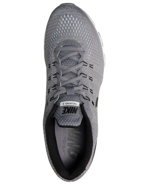 brand new b995e f9fb2 Nike Men s Air Max Tailwind 8 Running Sneakers From Finish Line in Gray for  Men (COOL GREY BLACK PURE PLAT)   Lyst